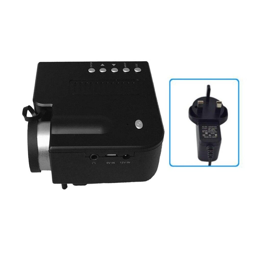 UC28B + proyector de Casa Mini portátil en miniatura 1080 P HD proyección Mini proyector LED para entretenimiento de cine en casa