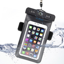 Waterproof Case Bag Underwater Pouch Phone Case For iphon 6 6s 7 Plus For Samsung S8 S7 S6 For Huawei P10 For Xiaomi 6 Redmi