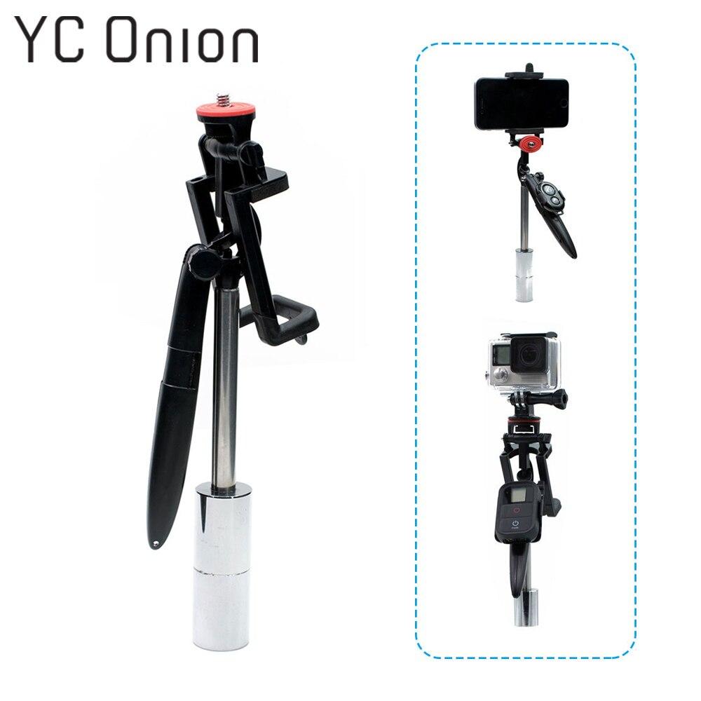 Multifunzione Palmare Riprese Video Stabilizzatore Steadycam Per Gopro Hero 7 6 5 4 Hero 3 + per Xiaomi Yi SJCAM fotocamera dello smartphone