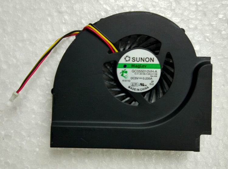 CPU cooling fan for IBM Lenovo T510 W510 with integrated graphics laptop cpu cooling fan cooler GC055010VH-A 13.V1.B4165.F.GN