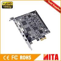 AVerMedia USB3.0,การ์ดจับภาพวิดีโอHDMI/DVI/VGA/คอมโพสิต/S-Video/อินพุต3G-SDI, 1920x1200 60fps (CU511B)