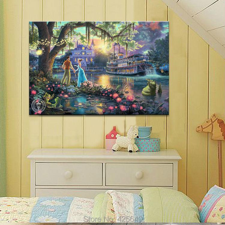 Buy thomas kinkade print painting on canvas poster and print wall art picture for Home interiors thomas kinkade prints
