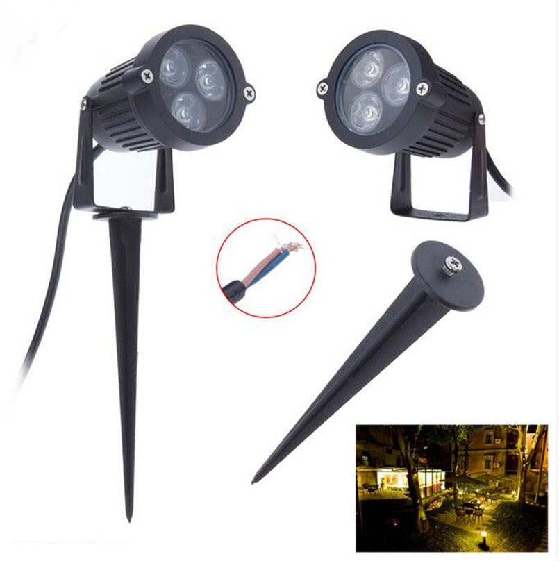 10pcs LED Garden Spot Lamp Spike Landscape 3W 3x1W Outdoor Lighting DC12V  AC85 265V LED Lawn Lamp Waterproof IP65 Free Shipping. Garden Spot Furniture Promotion Shop for Promotional Garden Spot