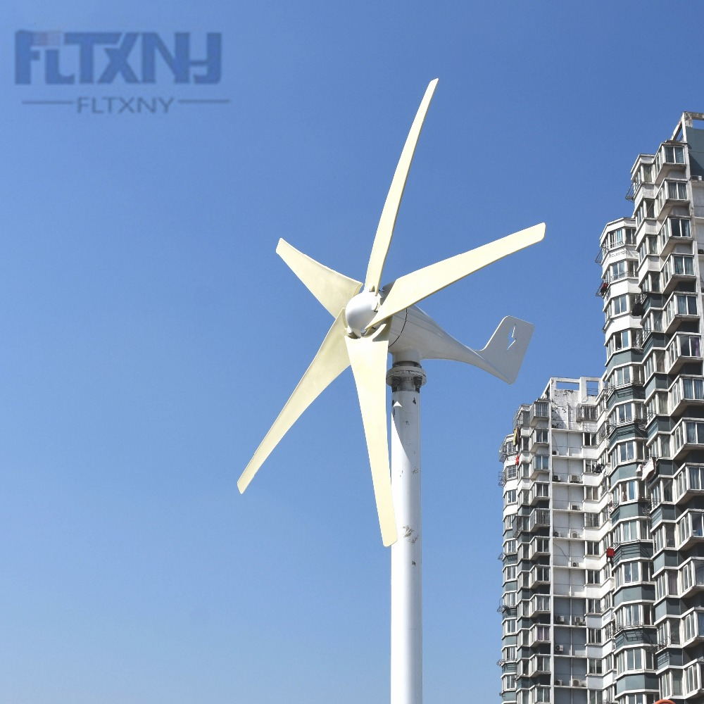 Recommed 600W 12V 5 blades low start up speed horizontal residential wind mill turbine generatorRecommed 600W 12V 5 blades low start up speed horizontal residential wind mill turbine generator