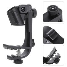 Crust Pro 1PC Adjustable Microphone Clips on Drum Rim Anti-shock Mount Clamp Stand Holder Tool