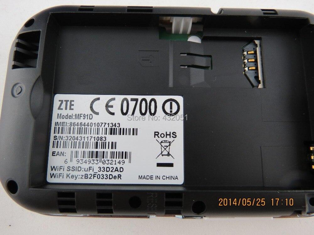 ახალი ZTE MF91D LTE ჯიბის ცხელ - ქსელის აპარატურა - ფოტო 4