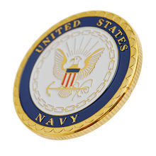 US MILITARY UNITED STATES NAVY CHALLENGE COIN,10pcs/lot DHL free shipping united states military armed forces full size ribbon us merchant marine expeditionary