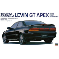 1/24 Assemble TOYOTA Corolla LEVIN GT APEX Sports Car 20254 Model Toys