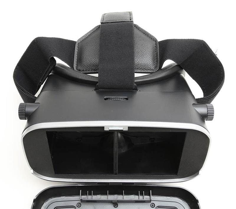 18 Original Shinecon VR Pro Virtual Reality 3D Glasses Headset VRBOX Head Mount Google Cardboard Helmet For Smartphone 4-6inch 28
