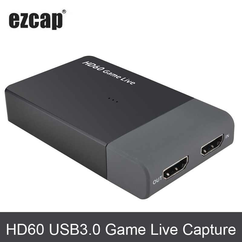 Original Ezcap 287 1080P 60fps Full HD Video Recorder HDMI to USB