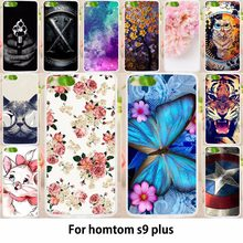 TAOYUNXI Soft Cases For Homtom S9 Plus Case Antil-knock Cover Skin for Homtom S9 Plus 5.99 inch Silicone Bags Housings(China)