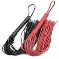 Genuine Leather Whip Flogger Ass Spanking Bondage Slave In Adult Games For Couples Fetish Sex Products Toys For Women Men Gay
