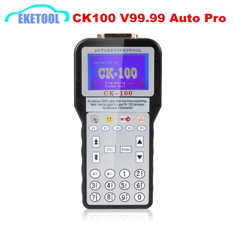 Latest Upgrade CK100 Auto Key Pro Car Diagnostic Device Multi Language Add Pin Code Service CK 100 CK100 No Tokens