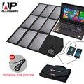 ALLPOWERS Panel Solar 60 W 5 V 12 V 18 V de batería Solar portátil Cargador Solar para iphone teléfono inteligente de la batería de coche 12 v