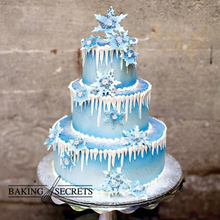 N453 Baking tool gum paste snow fondant cake fondant tool silicone cake mold