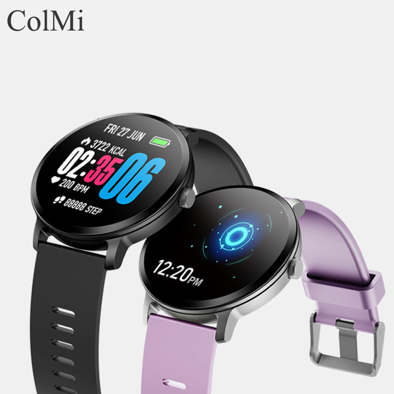 ColMi Smart Watch Series 5 Colors IPS SCREEN Smartwatch Multi Sports Mode Fitness Bracelet For Android Phone IOS Apple IPhone