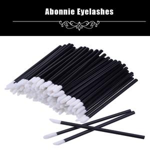 Изящная Pro 50 шт одноразовая Кисть для макияжа губной помады палочка-аппликатор для блеска макияж обязательные косметические инструменты