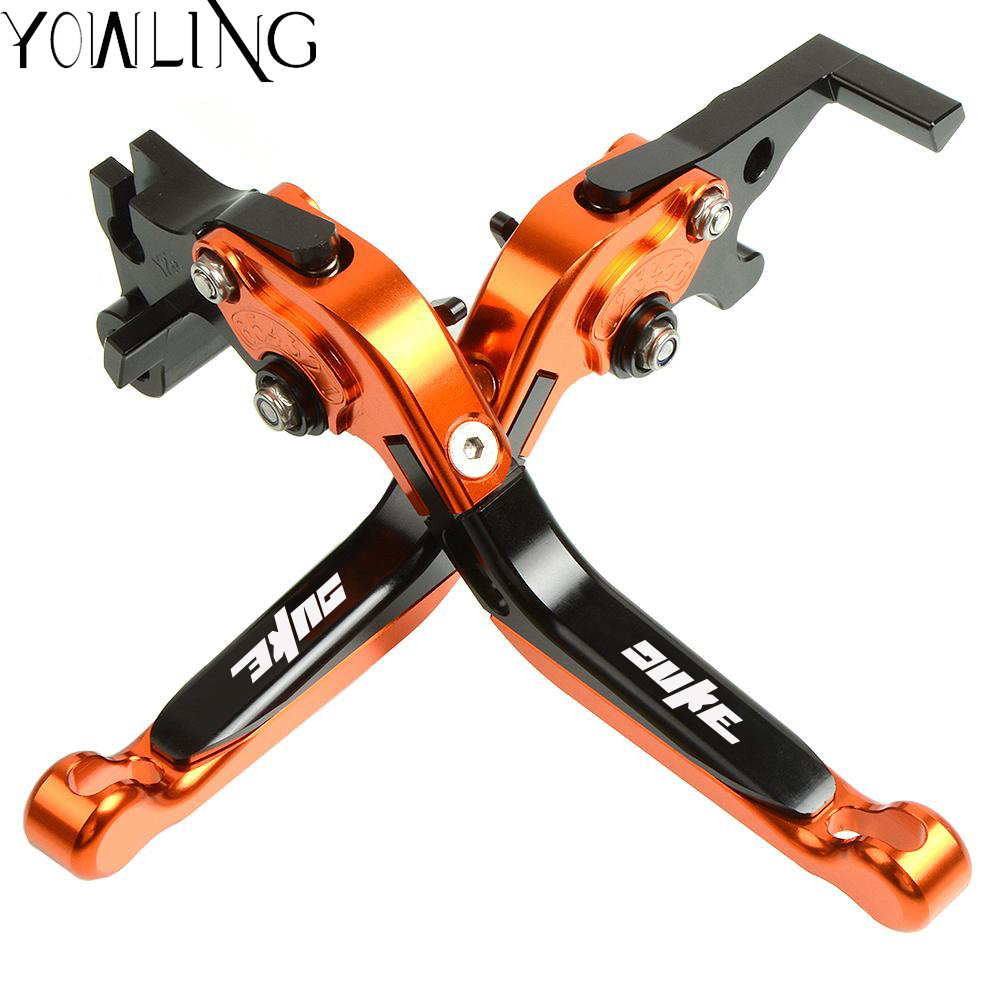 2018 Top Selling 3 Types Logo Motorcycle Brakes Clutch Levers Set Motorbike brake lever for ktm duke 125 390 200 duke 2013 2019 in Covers Ornamental Mouldings from Automobiles Motorcycles