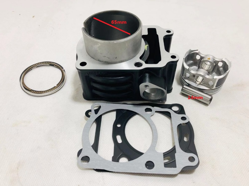KPS200 KPR200 KPT200 LF200 10P 200 10R Motorcycle Cylinder Kits With Piston And Pin