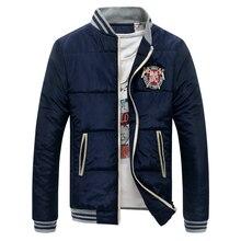 Плюс размер 4XL 5XL Мужские куртки осенью и зимой случайные куртка hombre ларга стенд воротник куртки пальто мужская одежда NO. Y145 P75