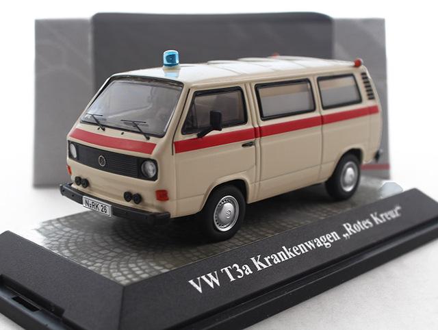 1:43 Alemania PCLS VW T3 van de aleación modelo de Modelo de Favoritos