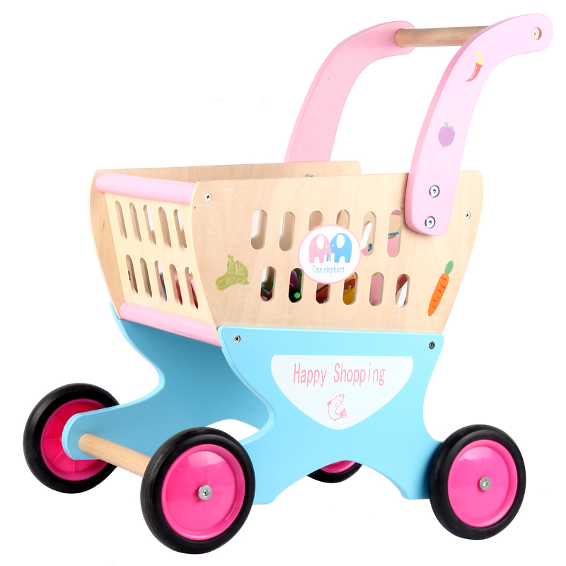 Wooden Toy Shopping Cart with FREE Lets Play House! General Cargo Children Pretend Play Toys Xmas/Birthday giftWooden Toy Shopping Cart with FREE Lets Play House! General Cargo Children Pretend Play Toys Xmas/Birthday gift
