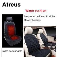 Atreus Car Seat Covers Winter Heating Belt Warm Pad Cushion For Mitsubishi ASX Suzuki Subaru Acura Jeep Fiat 500 Hyundai Solaris
