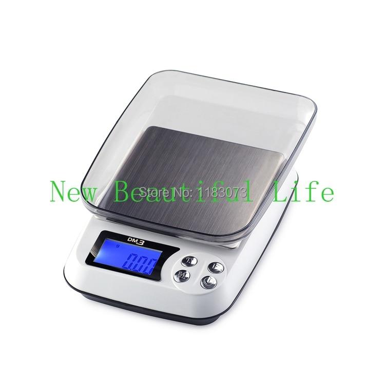 500 г 0.01 г ЖК-дисплей Таблица Jewellery Весы бытовой Кухонные весы для Еда Электронный почтовый баланс Вес Точный Цифровой 0.01 г