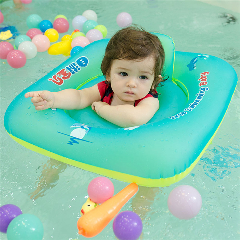 Baby Swimming Ring floating Children Waist Inflatable Floats Swimming Pool Toy for Bathtub and Pools Swim Trainer Dropship
