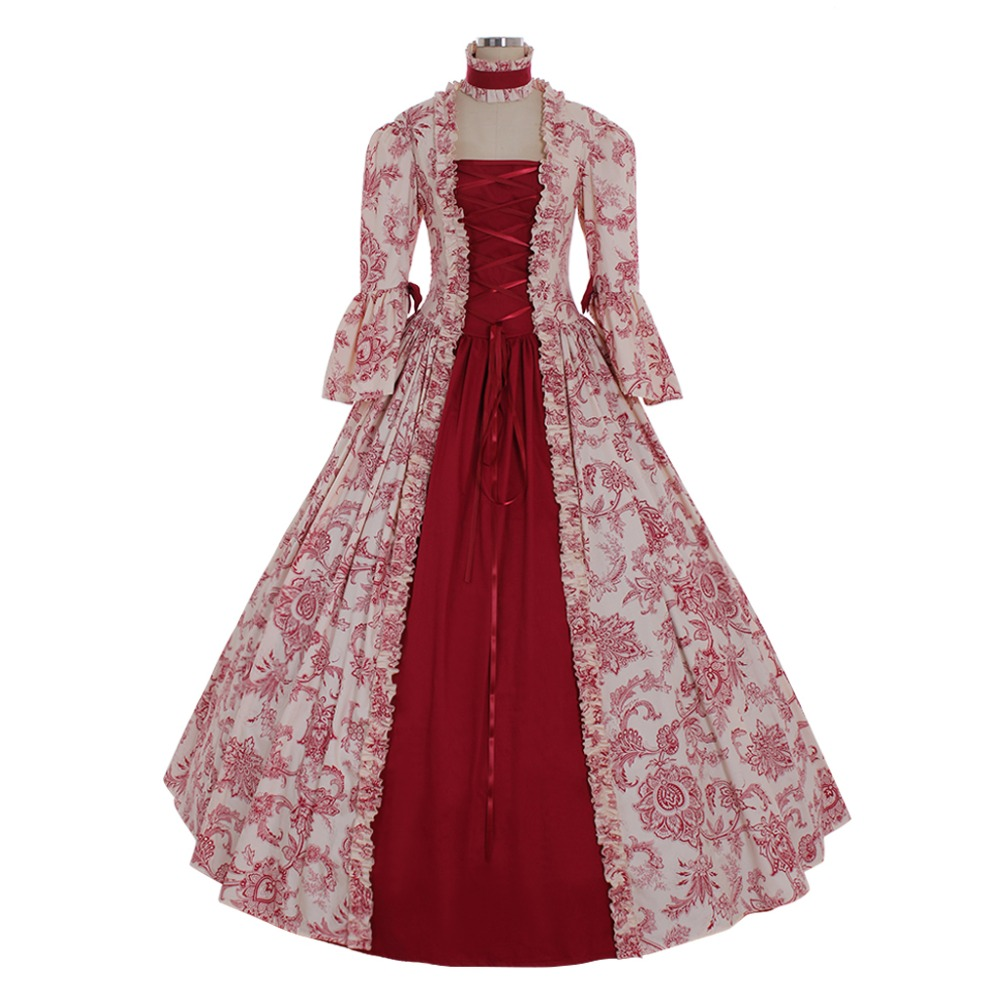 Cosplaydiy Custom Made 18th Century Rococo Ball Gown Dress Marie Antoinette Masquerade Fancy Belle Dress L320 Home