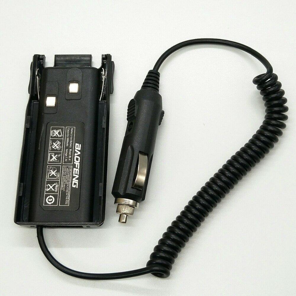 Oppxun heißer verkauf baofeng auto charger battery eliminator für walkie talkie uv-82 zweiwegradio uv82