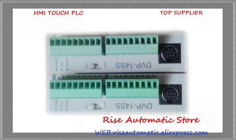 PLC DVP-SS Series 24VDC 8DI 6DO relay Standard DVP14SS11R2 90% New new original dvp14ss211r plc ss2 series 24vdc 8di 6do relay output standard 1 year warranty in box