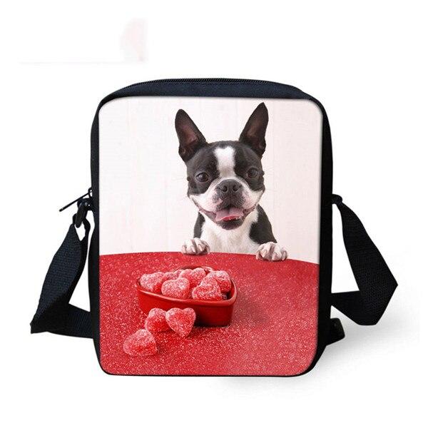 FORUDESIGNS/женская маленькая сумка через плечо с объемным рисунком собаки чихуахуа, модные женские сумки-мессенджеры, сумки через плечо - Цвет: 3F0007E