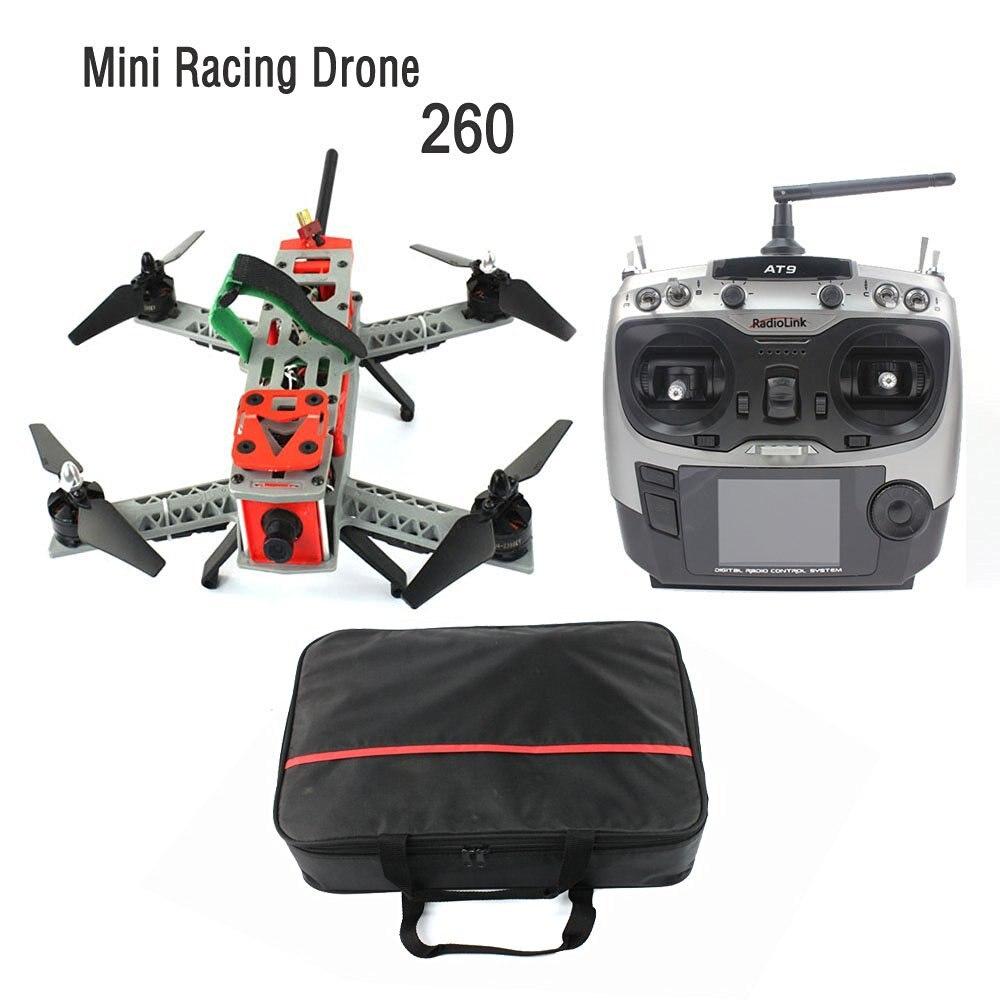 F16051-L JMT Mini 260 SP Racing F3 DIY Quacopter ARF/No Battery FPV RC Drone 2.4G 9CH 5.8G Video TX 700TVL HD Camera Carry Bag