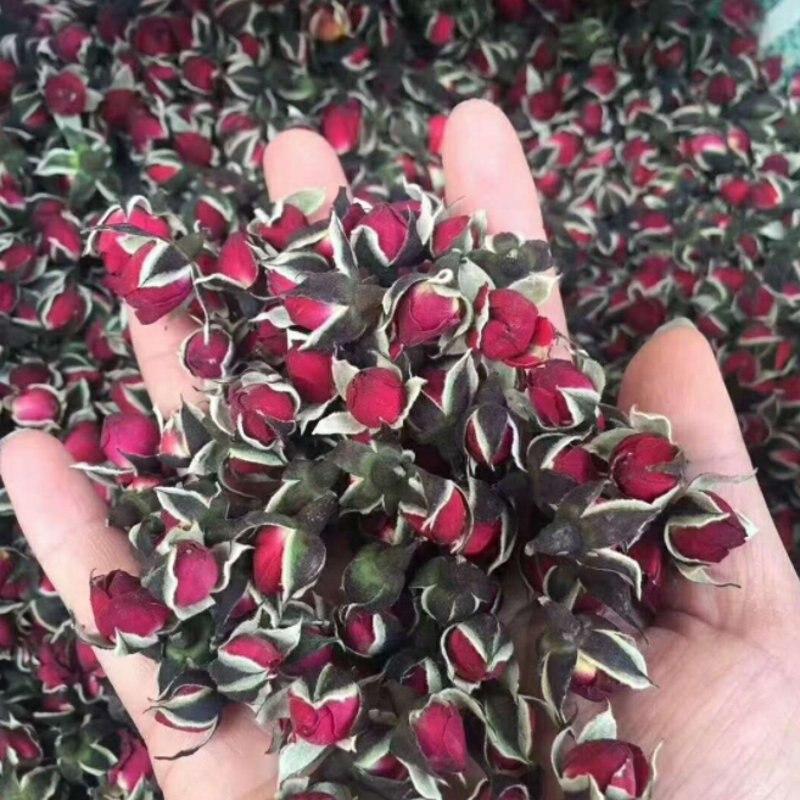 Nouveau naturel séché fleur Mini Rose bourgeon bricolage centres de table de mariage accessoires de chambre cadeau pour petite amie 20g