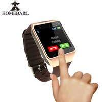 Dz09 smartwatch relógio inteligente câmera dz09 relógio de pulso sim cartão para ios android bluetooth mtk6261 suporte repalce cinta pk gt08 a1