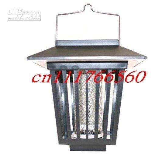 5pcs/lot Solar Powered Mosquito Insect Pest Killer Zapper Night Light Lamp for Garden New