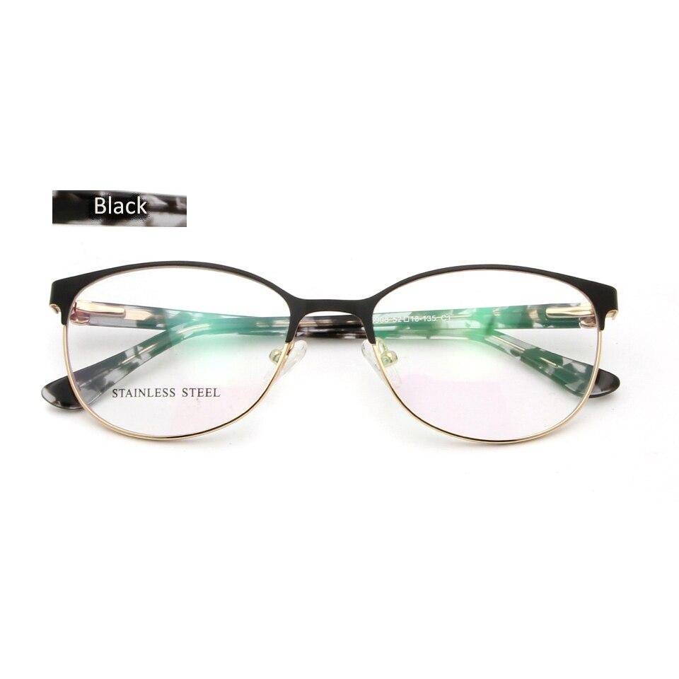 c08220c9d2 ESNBIE Luxury Design Eye Glasses Frames For Women Optical Eyeglasses Frame  Diamond High Quality Prescription Eyewear feminino -in Eyewear Frames from  ...