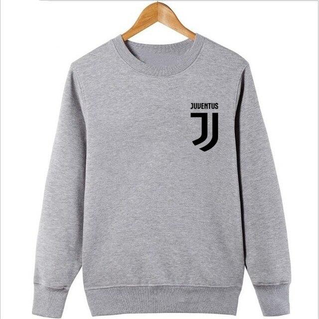 2017 Man Juventus print Sportswear Hoodies male Hip Hop Fleece Long Sleeve Hoodie Slim Fit Sweatshirt Hoodies for men Streetwear 2