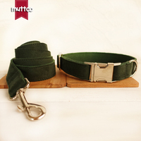 50pcs Lot MUTTCO Retailing Homemade High Quality Collar For Dog THE GREEN DAY Creative Design Dog