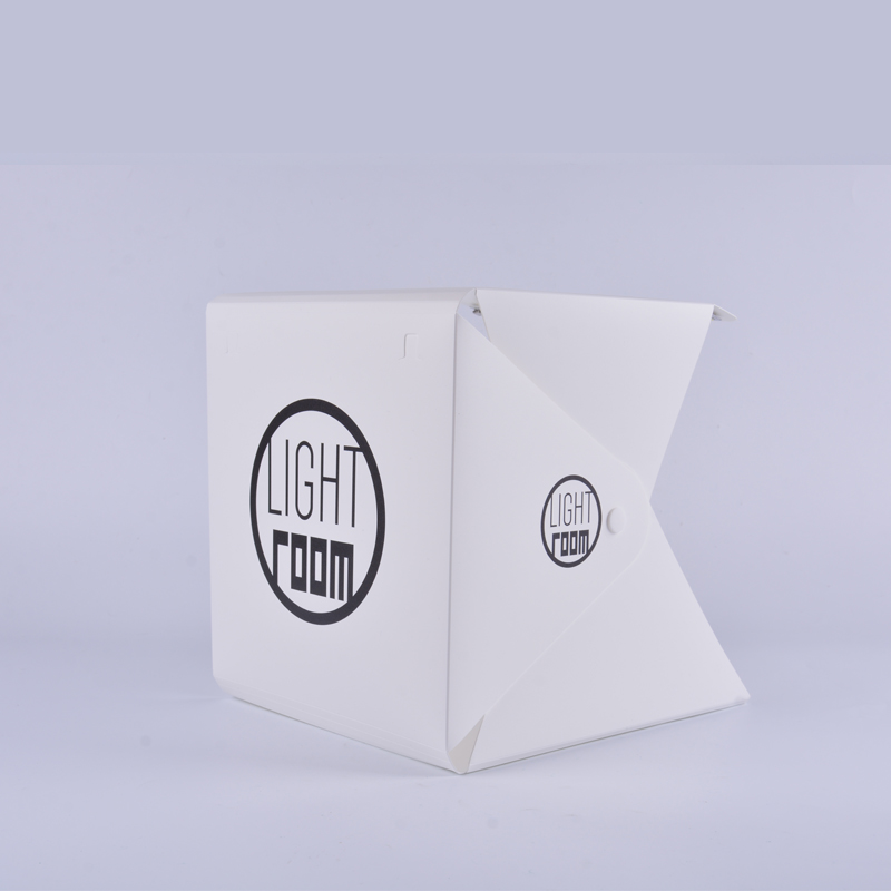 Image 3 - Baolyda 20 LED Mini Studio Photo Box 24cm Light Box for Photography Box Folding Lightbox Whitebox Photobox-in Tabletop Shooting from Consumer Electronics