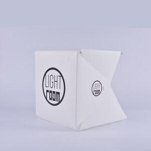 Image 3 - Baolyda 20 LED Mini Studio Photo boîte 24cm boîte lumineuse pour photographie boîte pliante Lightbox Whitebox Photobox