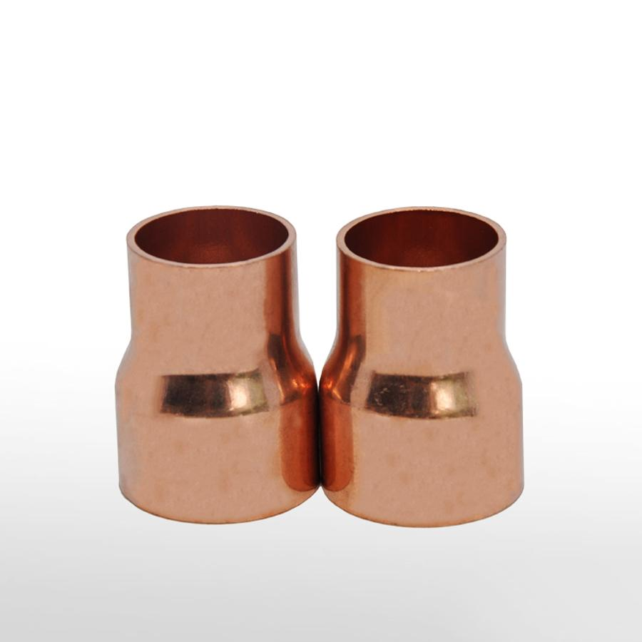 35mmX22mm Inner Diameter Copper End Feed Straight Reducing Coupling Plumbing Fitting Scoket Weld Water Gas Oil