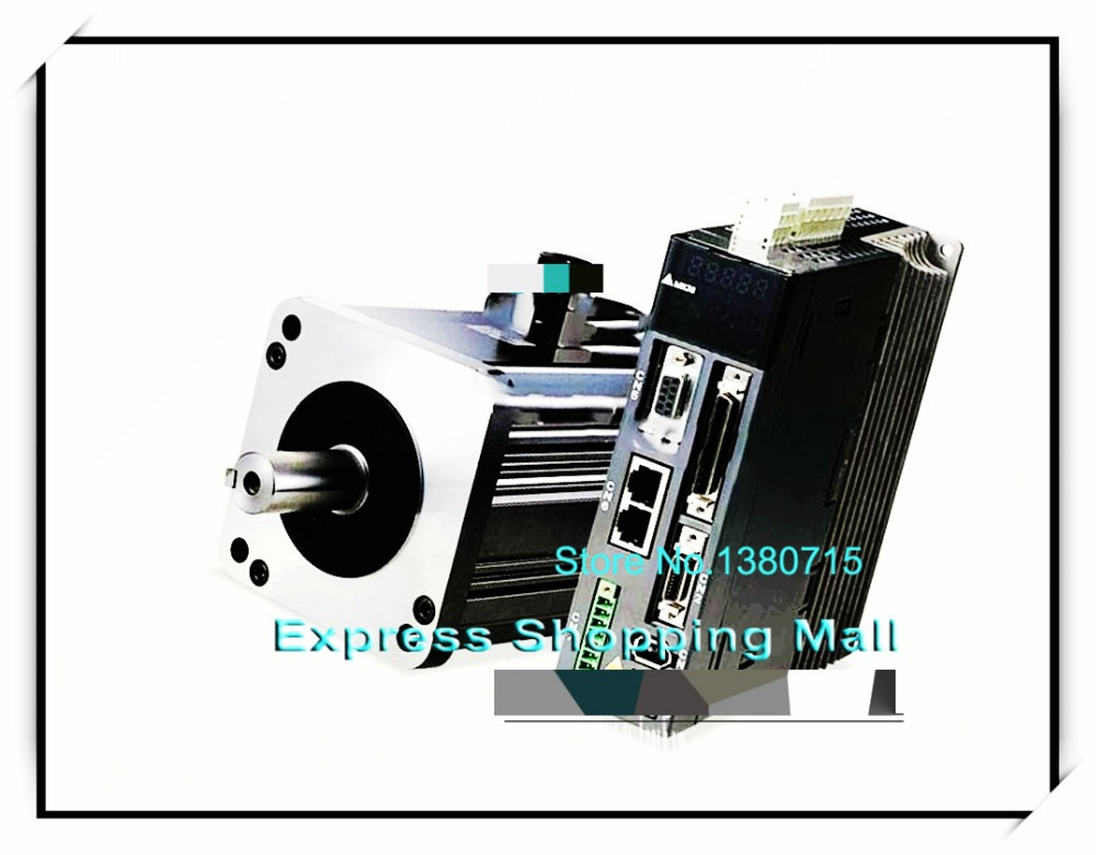 ECMA-C30604RS+ASD-A0421-AB 220V 400W 1.27NM 3000RPM 60mm AC Servo Motor & Drive kits Oil Seal 2500ppr new original cimic servo motor b2 400w asd b2 0421 b ecma c20604rs 60mm 220v 400w 1 27nm 3000rpm 17bit