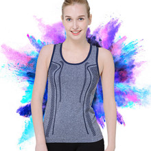 New Fashion Summer Sexy Fitness Clothes Quick Dry Breathable Sleeveless Women Tank Vest