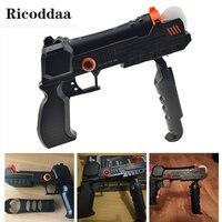 Паровой удар ручной пистолет для sony Игровые приставки 3 шаг движения Управление; ружье для PS3/PS4 съемки аксессуар