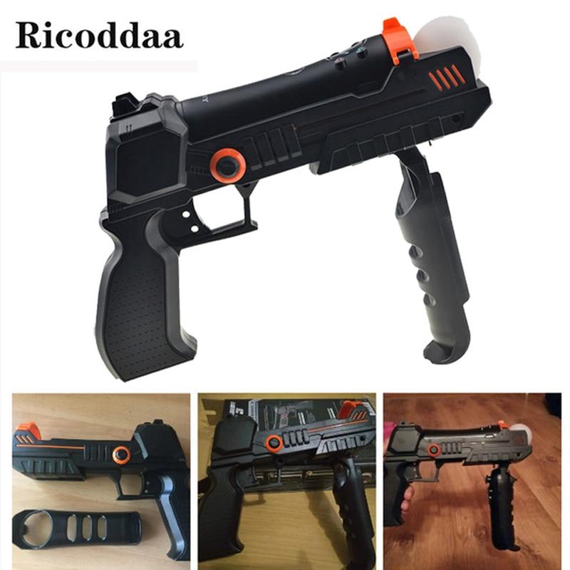 """""""Precision Shot Hand Gun"""" pistoletas """"Sony PlayStation 3"""" Perkelkite judesio valdymo valdiklio šautuvą PS3 / PS4 fotografavimo priedams"""