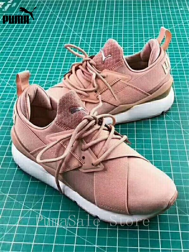 1e1e8032693 PUMA Muse Satin EP Womens Sneakers 367047 01 Women Sports Outdoor ...