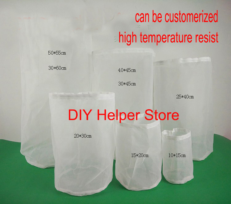 Filter Bag 55 50cm 100m 10 Gallon Fine Mesh Hop Bags Wine