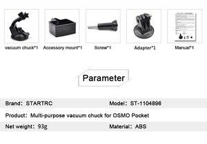 Image 2 - STARTRC DJI OSMO bolsillo de mano Gimbal Cámara versátil ventosa para montaje de DJI OSMO bolsillo acción/OSMO Cámara de Acción